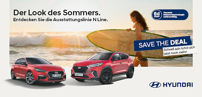 Hyundai Sommer Aktion 2019, Autohaus Boden